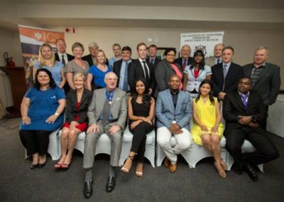 Group Photo of Prize Winners, Sponsors and Guest Speaker