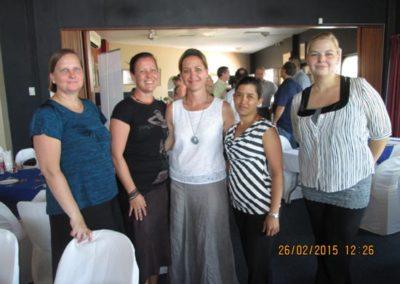 Kerry, Julie, Audett, Tanya & Alica