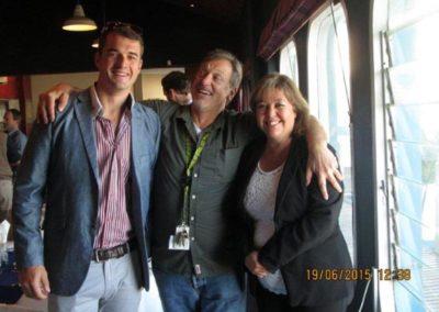 Matt Swemmer, Tony Norton FICS & Alison Millar FICS