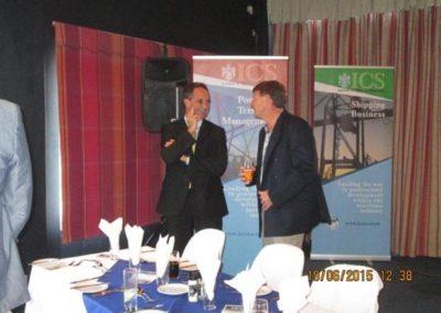 Our Guest Speaker Mr Malcolm Hartwell and Mr Scott Millar FICS