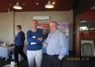 Richard Brook-Hart FICS & Tim Phillips FICS (Past ICS SA Branch Chaimen)