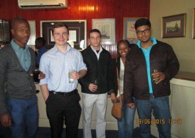 Sophila, Tim, Robin, Popie & Preshen from Alpha Shipping