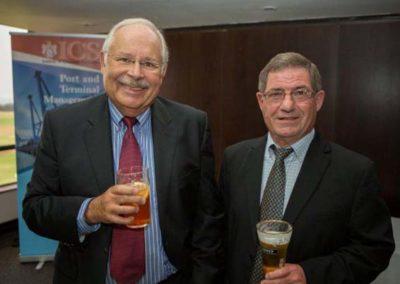 Trevor Rayson, Rayson Shipping & Tim Hastie, Vice Chairman ICS SA Branch